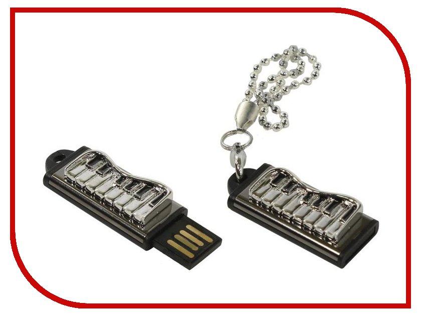 USB Flash Drive 16Gb - Iconik Фортепиано Silver MTF-PIANO-16GB<br>