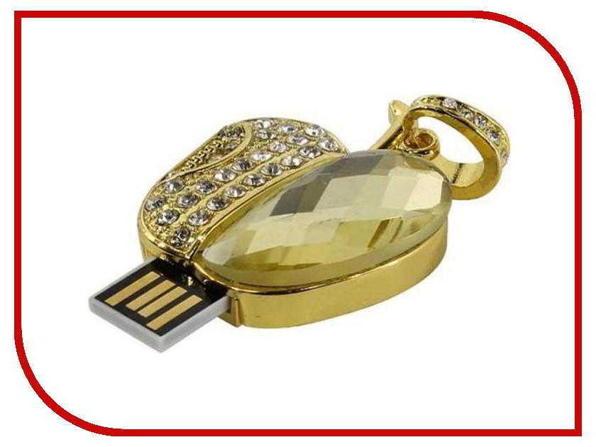 USB Flash Drive 8Gb - Iconik Яблоко Swarovski MTFC-APPLE-8GB<br>