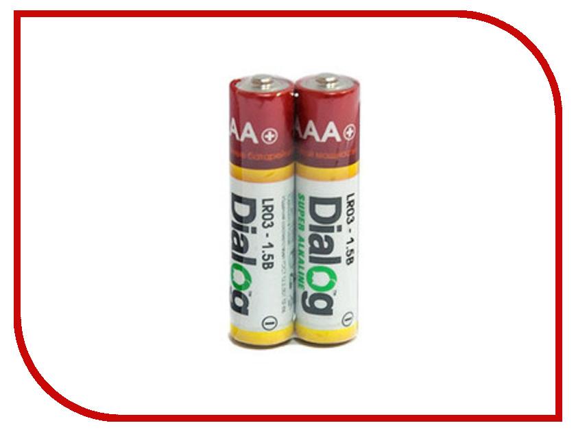 Батарейка AA - Dialog LR6-8S (8 штук)<br>