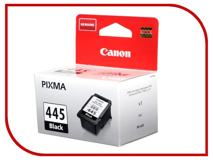Картридж Canon PG-445BK Black для Pixma MG2540 8283B001/iP2840/MX494 картридж pg 440xl