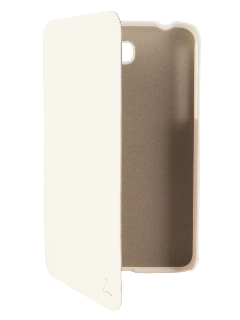 Аксессуар Чехол Galaxy Tab 3 7.0 T2100/T2110 LaZarr Second Skin White<br>