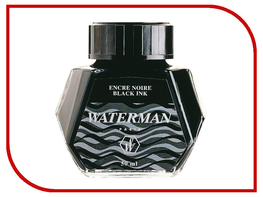 Аксессуар Waterman Black S0110710 - Флакон с чернилами