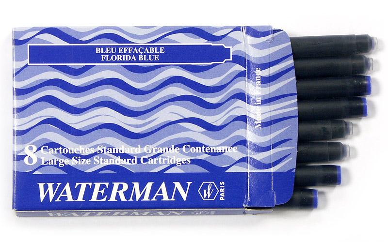 Аксессуар Waterman Standard Blue S0110860 - Картридж (8шт)