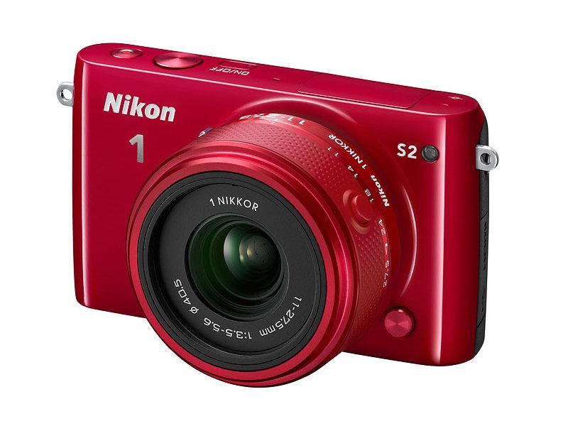 Фотоаппарат Nikon 1 S2 Kit 11-27.5 mm F/3.5-5.6 Red<br>