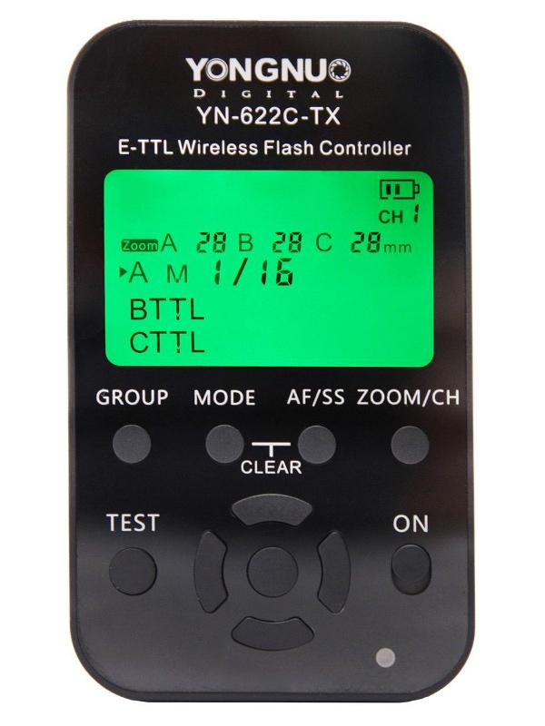 YongNuo YN-622C for Canon - дополнительный трансивер цена и фото