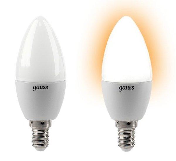Лампочка Gauss 4W E14 220V 2700K EB103101104<br>