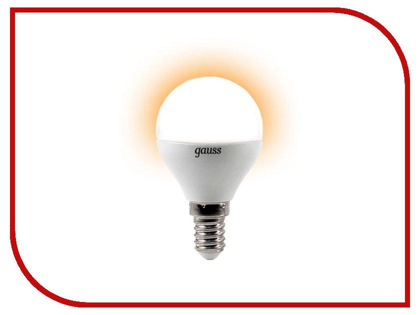 Лампочка Gauss 4W E14 220V 2700K EB105101104<br>