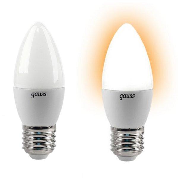 Лампочка Gauss 4W E27 220V 2700K EB103102104<br>