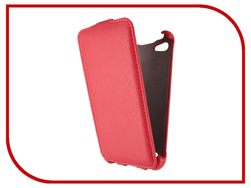 Аксессуар Чехол Philips W6610 Gecko Red