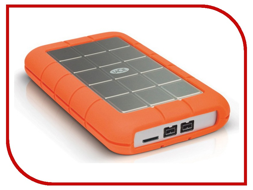 Жесткий диск LaCie Rugged Triple 2Tb 9000448 lacie rugged thunderbolt 250gb ssd накопитель lac9000490