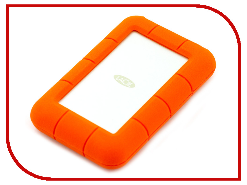 Жесткий диск LaCie Rugged Mini 2Tb 9000298 lacie rugged thunderbolt 250gb ssd накопитель lac9000490
