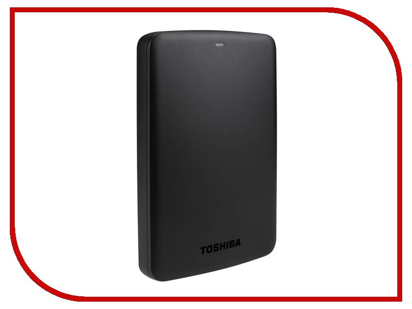 внешние HDD/SSD HDTB310EK3AA  Жесткий диск Toshiba 1Tb Canvio BASICS HDTB310EK3AA