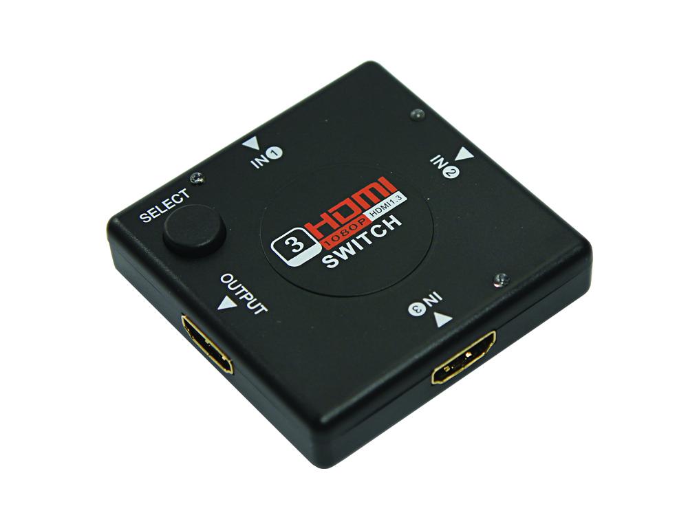 Аксессуар Rexant HDMI 3x1 17-6912