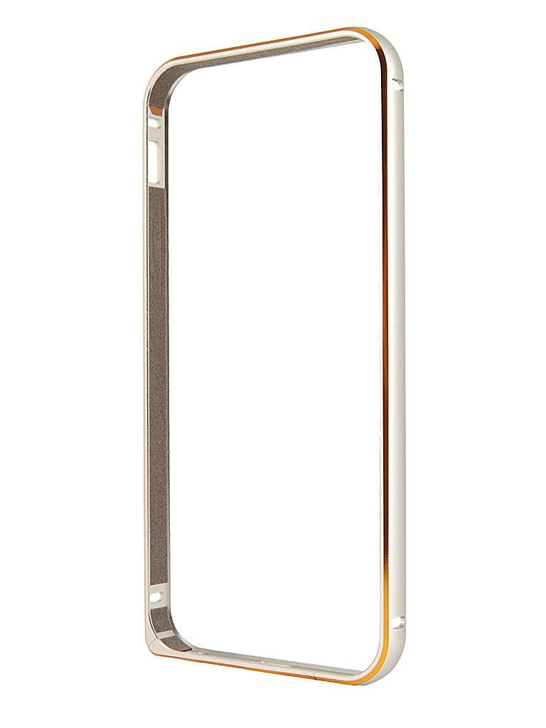 Аксессуар Чехол-бампер Ainy for iPhone 5 Grey QC-A008K
