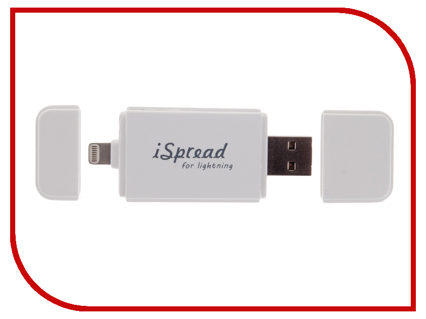 Гаджет iSpread Lightning IS-2 + microSD 8Gb<br>