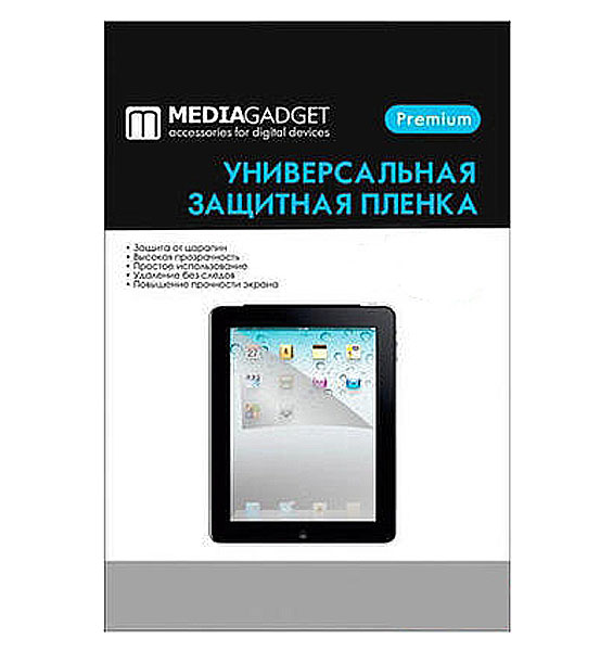 Защитная пленка для Alcatel OneTouch 4033D Media Gadget UC Premium прозрачная MG797