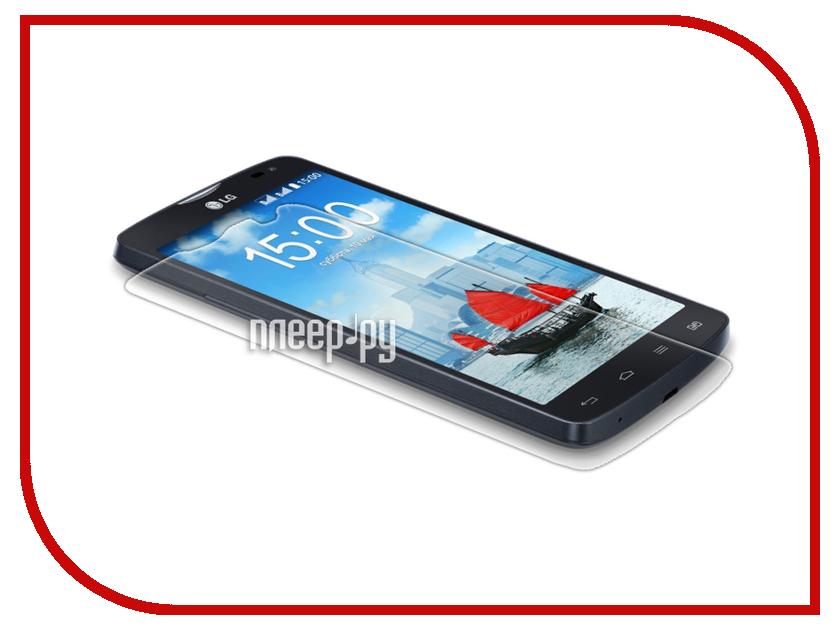 Аксессуар Защитная пленка LG L80 Media Gadget Premium прозрачная MG885 аксессуар защитная пленка lg g3 stylus d690 media gadget premium прозрачная mg1078