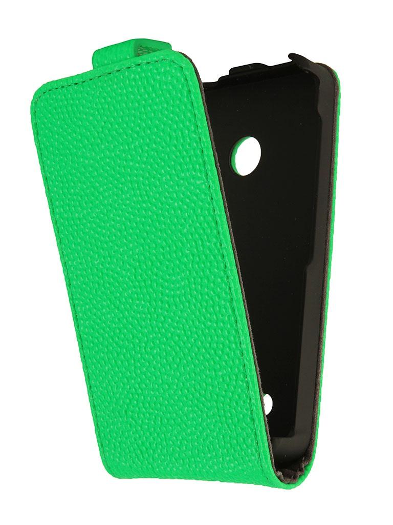 Аксессуар Чехол Nokia Lumia 530 iBox Classic Green