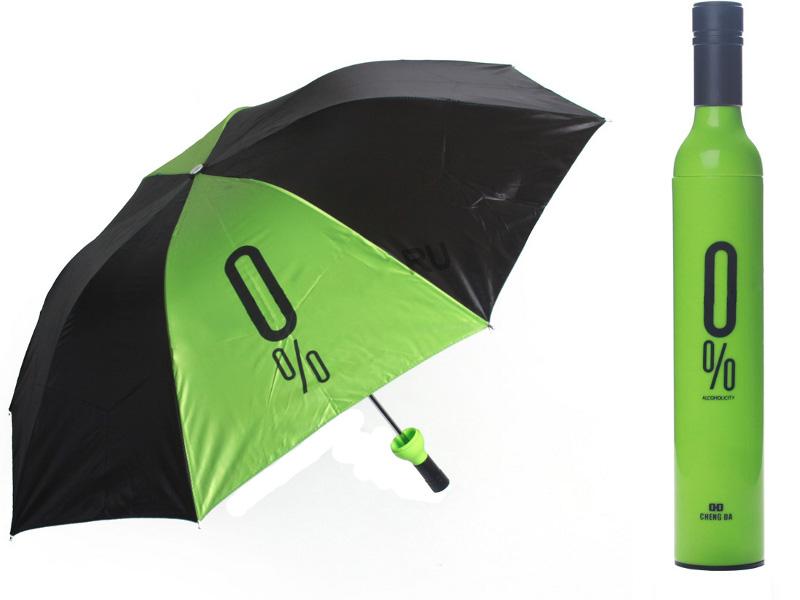 Зонт Эврика В бутылке Green 89986 / 90129