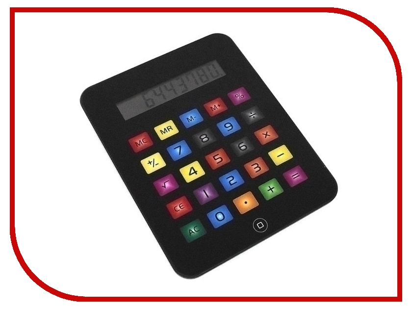 Калькулятор Эврика Цветной большой в виде Айпад 92336<br>