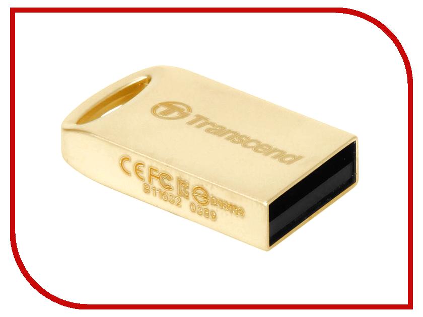 USB Flash Drive 16Gb - Transcend JetFlash 510 Gold TS16GJF510G<br>