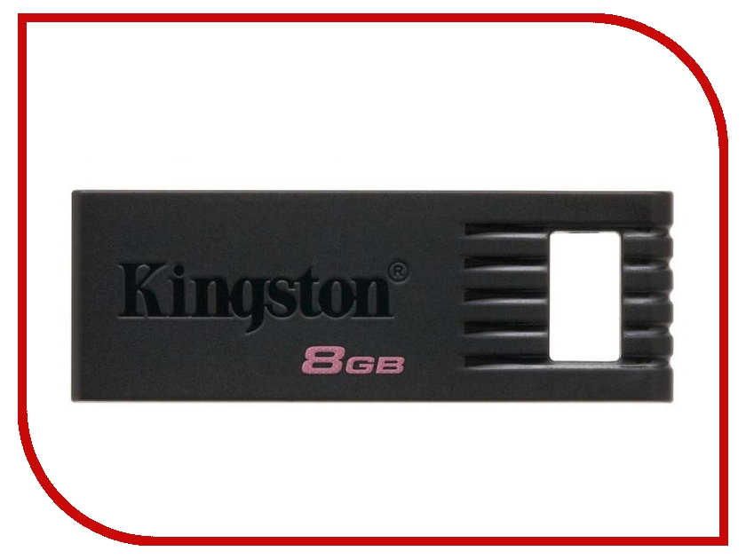 USB Flash Drive 8Gb - Kingston DataTraveler SE7 DTSE7/8GB / KC-U768G-3PK