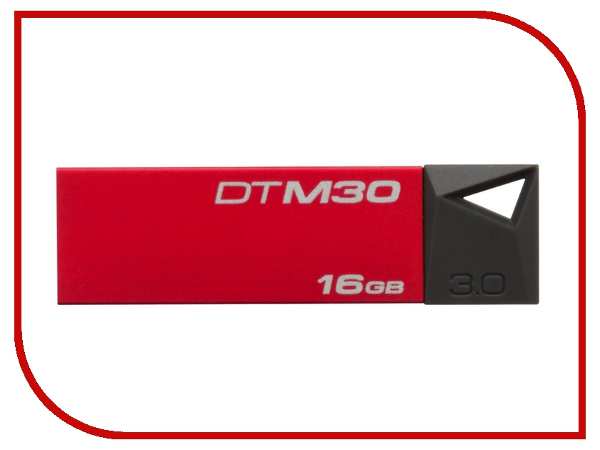 USB Flash Drive 16Gb - Kingston DataTraveler Mini 3.0 DTM30/16GB<br>