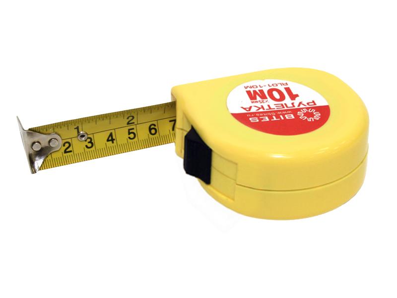Рулетка 5bites RL01-10M 10m<br>