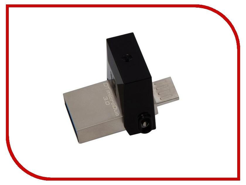 USB Flash Drive 16Gb - Kingston DataTraveler microDuo USB3.0 DTDUO3/16GB cartoon pig style usb 2 0 flash drive pink 16gb