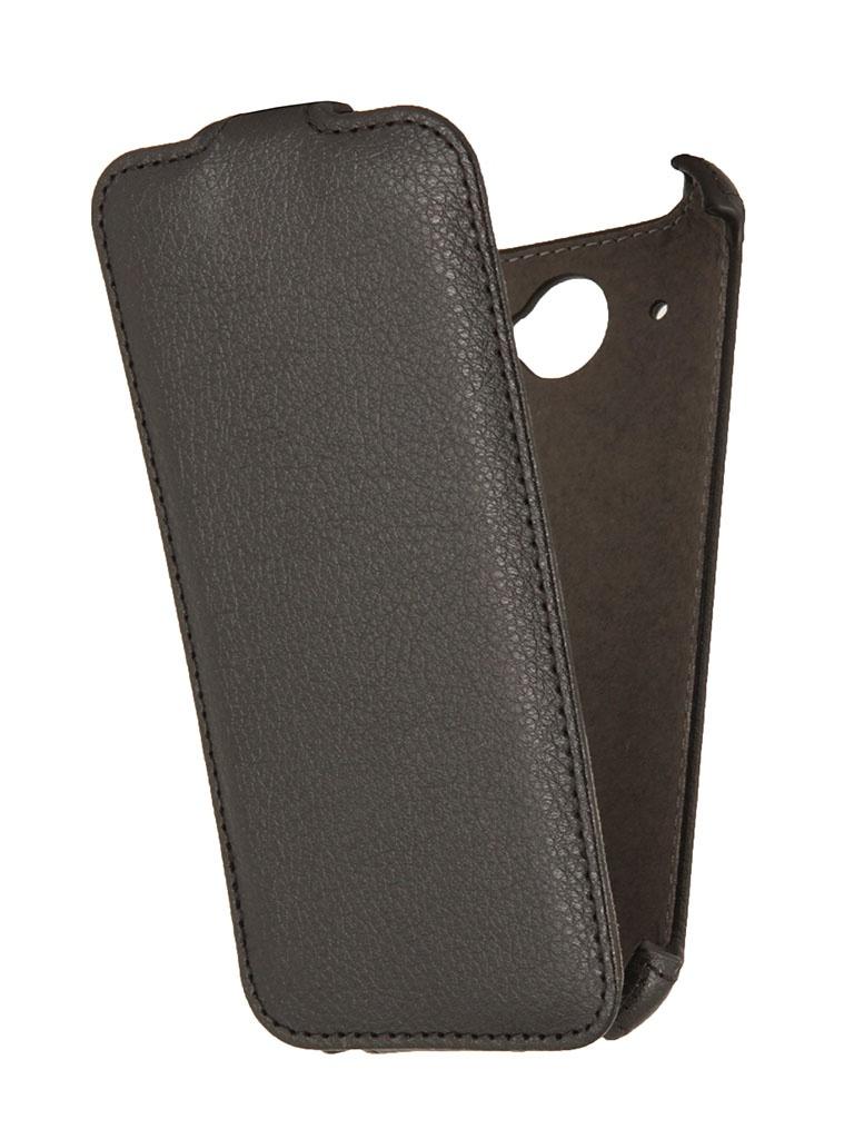 Аксессуар Чехол HTC Desire 601 / 601 Dual Sim EcoStyle Flip Sheel Black ESH-F-HTC601-BL
