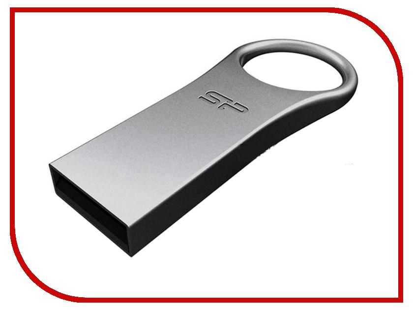 USB Flash Drive 32Gb - Silicon Power Firma F80 SP032GBUF2F80V1S флешка usb silicon power firma f80 16гб usb2 0 серебристый [sp016gbuf2f80v1s]