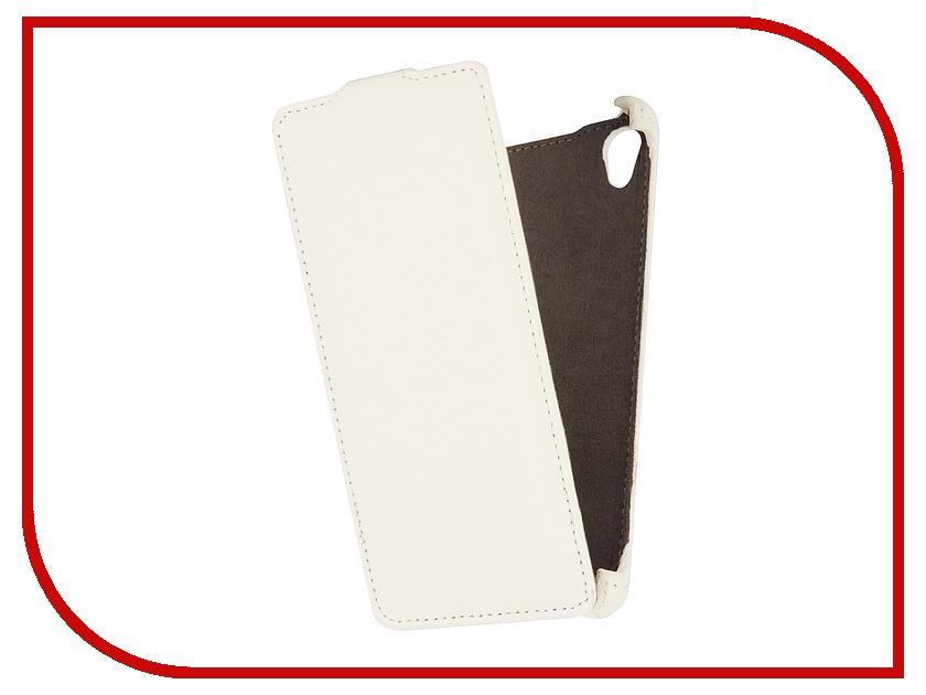 Аксессуар Чехол Sony Xperia Z3 EcoStyle Flip Sheel White ESH-F-SONZ3-WH<br>