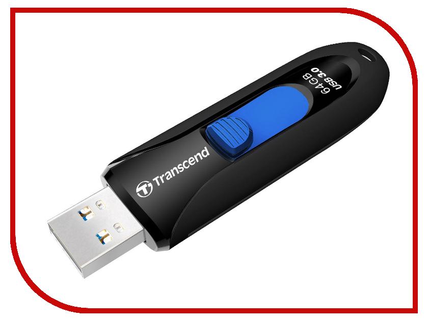USB Flash Drive 64Gb - Transcend JetFlash 790 TS64GJF790K<br>