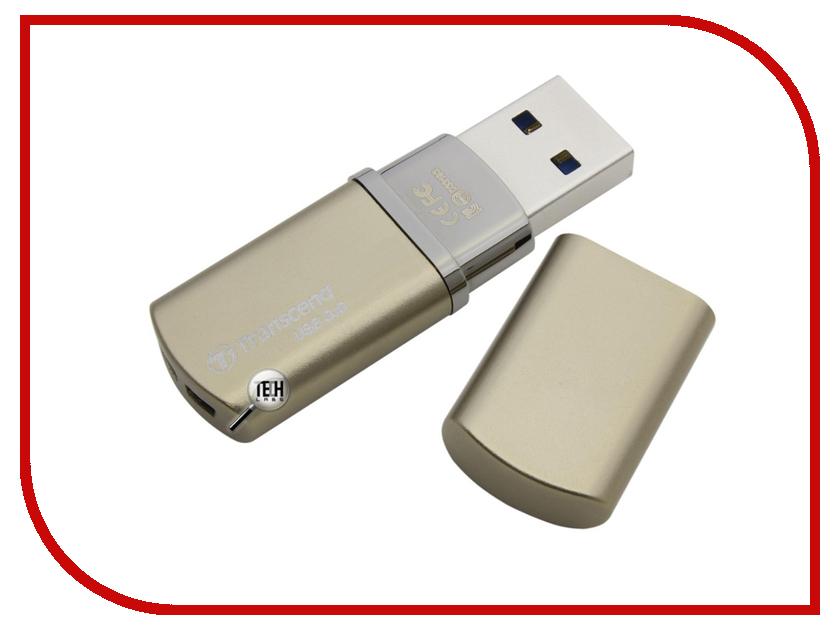USB Flash Drive 8Gb - Transcend JetFlash 820 Gold TS8GJF820G<br>