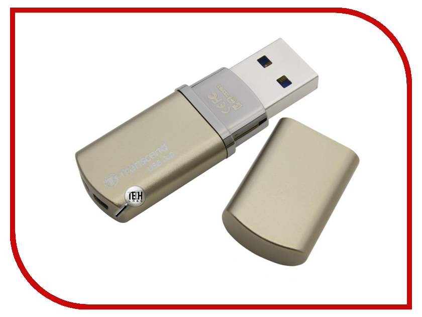 USB Flash Drive 64Gb - Transcend JetFlash 820 Gold TS64GJF820G<br>