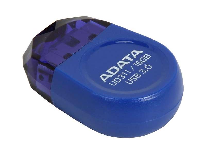 USB Flash Drive 16Gb - A-Data DashDrive Durable UD311 Blue AUD311-16G-RBL<br>