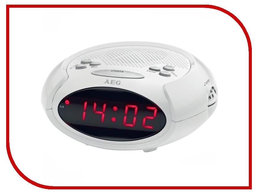 Часы настольные AEG MRC 4136 White