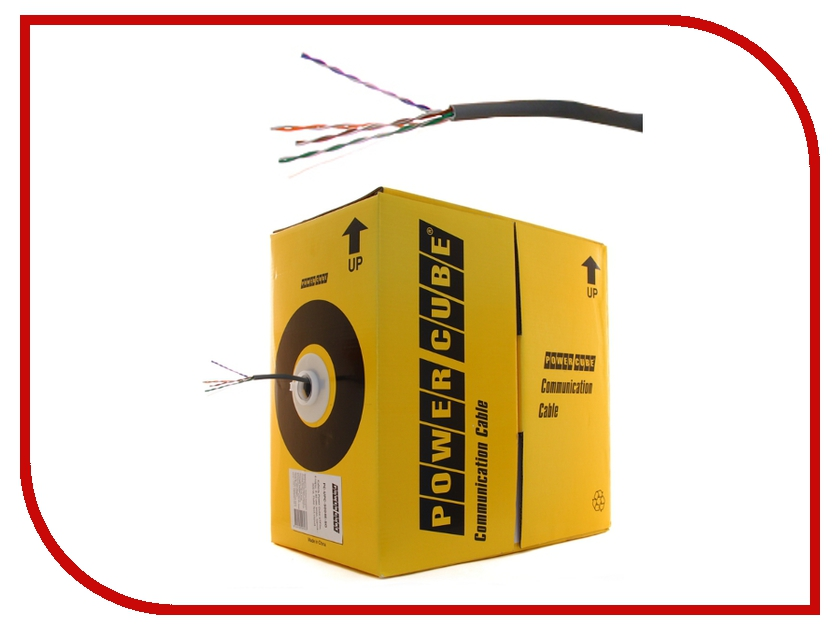 Аксессуар Power Cube UTP кат. cat.5e Fluke pullbox 305m PC-UPC-5004E-SO