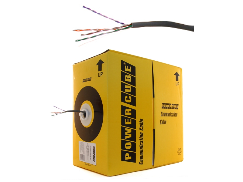 Аксессуар Power Cube PC-UPC-5004E-SO UTP кат. 5e Fluke pullbox 305m<br>
