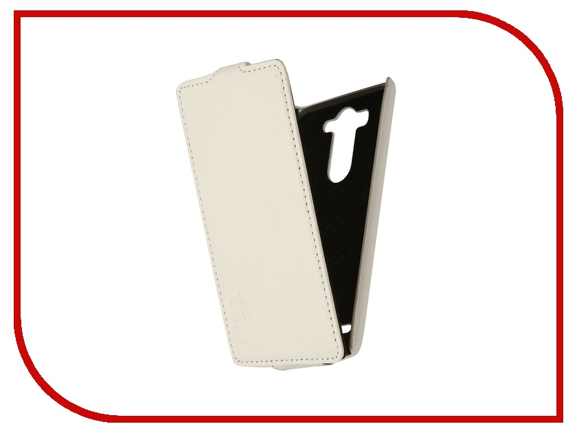 Аксессуар Чехол LG G3 S / mini Aksberry White