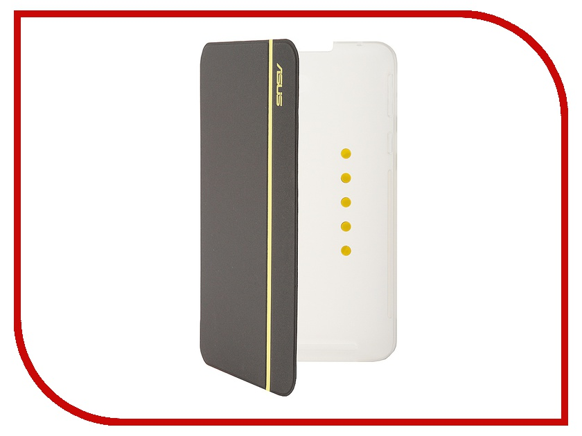 Аксессуар Чехол ASUS MeMO Pad 7 ME176C / ME176CX MagSmart Cover Silver-Yellow 90XB015P-BSL1M0<br>