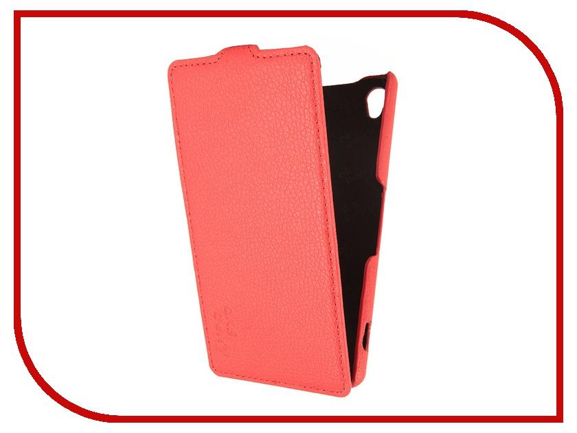 Аксессуар Чехол Sony Xperia Z3 Aksberry Red