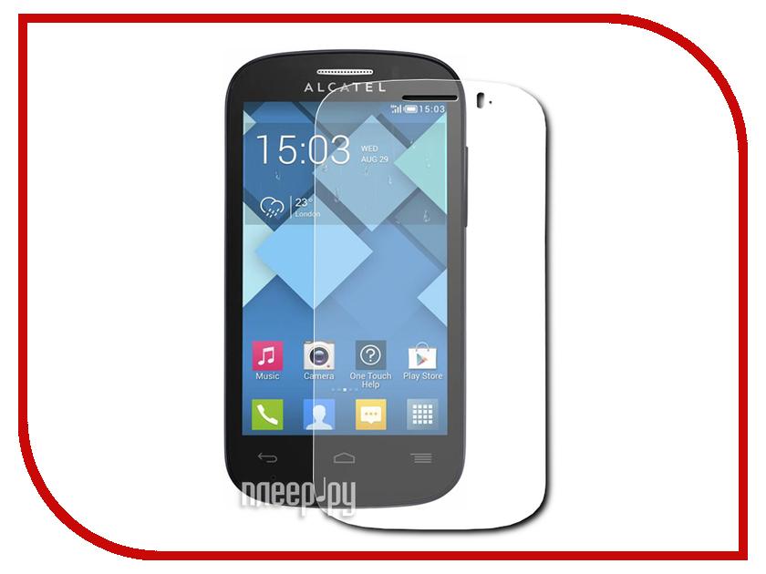 Аксессуар Защитная пленка Alcatel OneTouch Pop C3 Aksberry прозрачная<br>