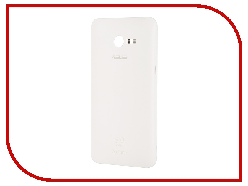 Аксессуар Крышка задняя ASUS ZenFone 4 Zen Case White 90XB00RA-BSL150<br>
