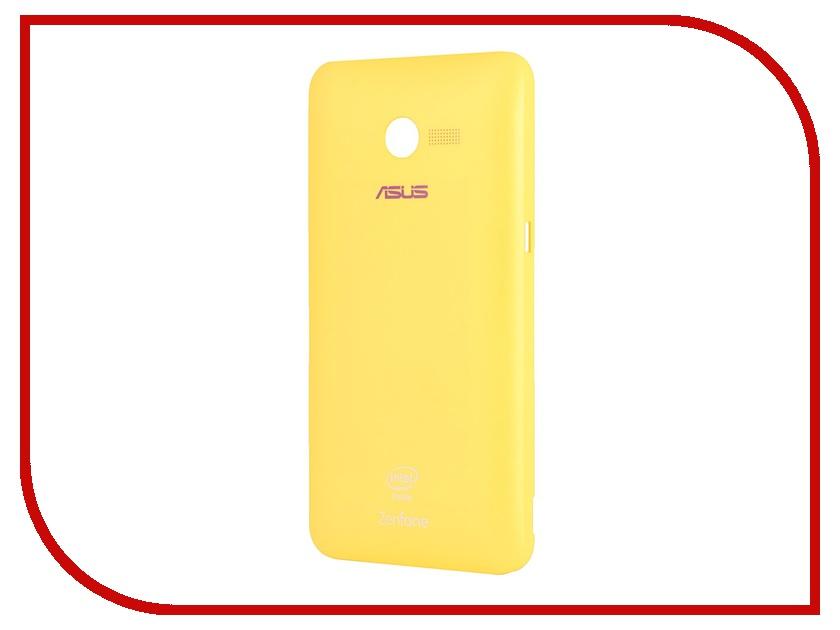 все цены на Аксессуар Крышка задняя ASUS ZenFone 4 Zen Case Yellow 90XB00RA-BSL180 онлайн