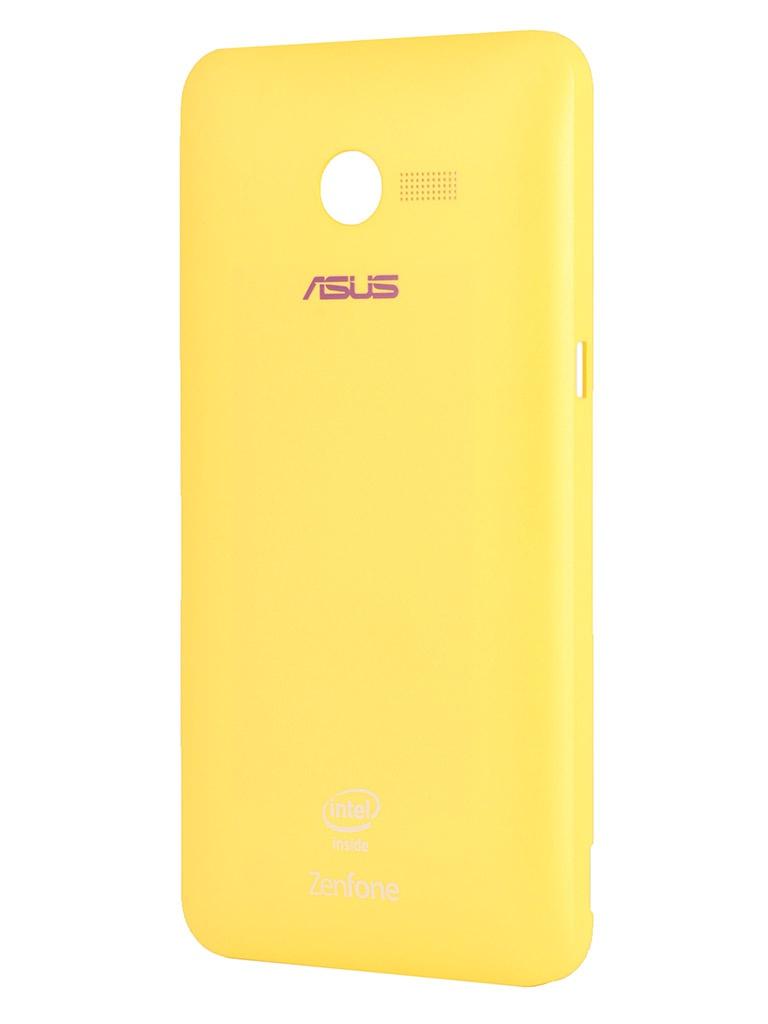 Аксессуар Крышка задняя ASUS ZenFone 4 Zen Case Yellow 90XB00RA-BSL180