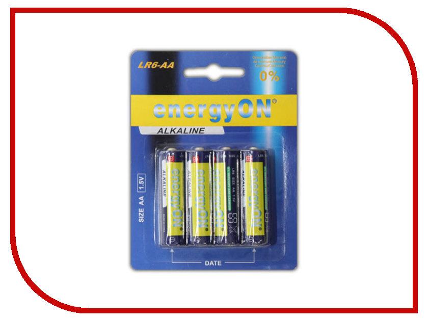 Батарейка AA - NEXcell Alkaline LR6 AA 1.5V (4 штуки)<br>