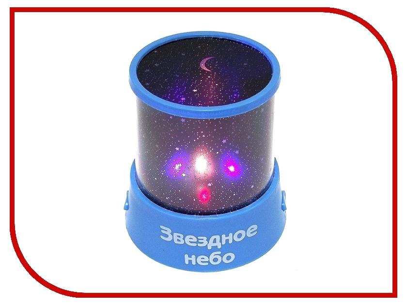Светильник Эврика Проектор звездного неба Blue 93327