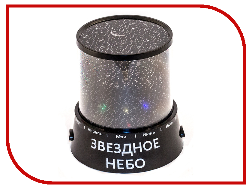 Светильник Эврика Проектор звездного неба Black 93976<br>