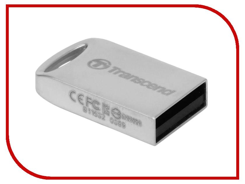 USB Flash Drive 8Gb - Transcend Jetflash 510 Silver TS8GJF510S<br>